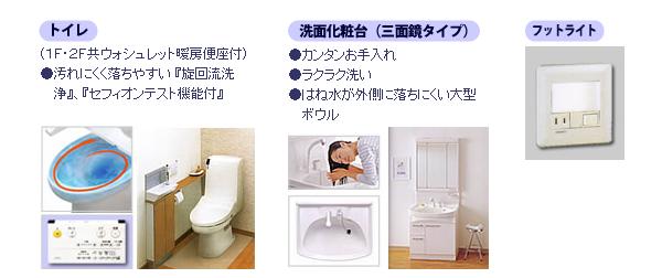 トイレ・洗面・フットライト